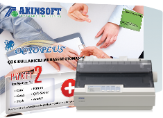 Akınsoft Octoplus Paket2 + EPSON LX-350 Yazıcı