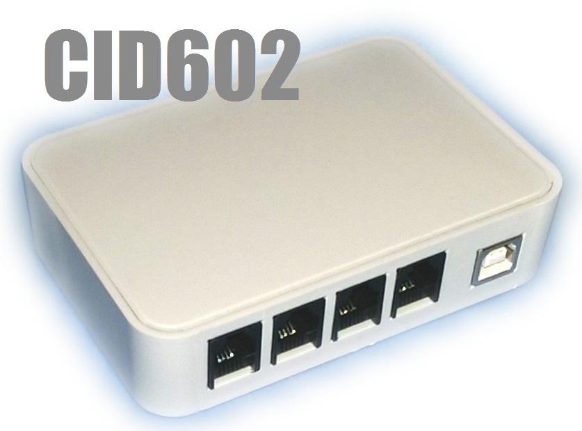 2 Hat/Port Caller ID CID602