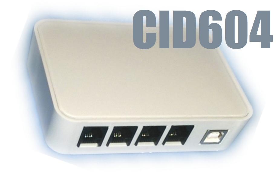 4 Hat/Port Caller ID CID604